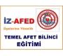 İZ-AFED Üyeleri İçin Temel Afet Bilinci Eğitimi